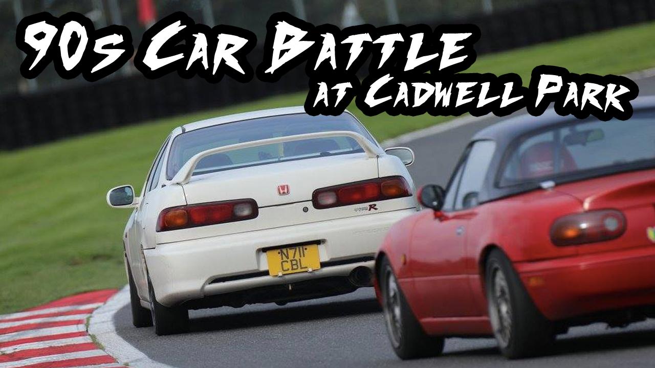 90s Car Battle Cadwell Park