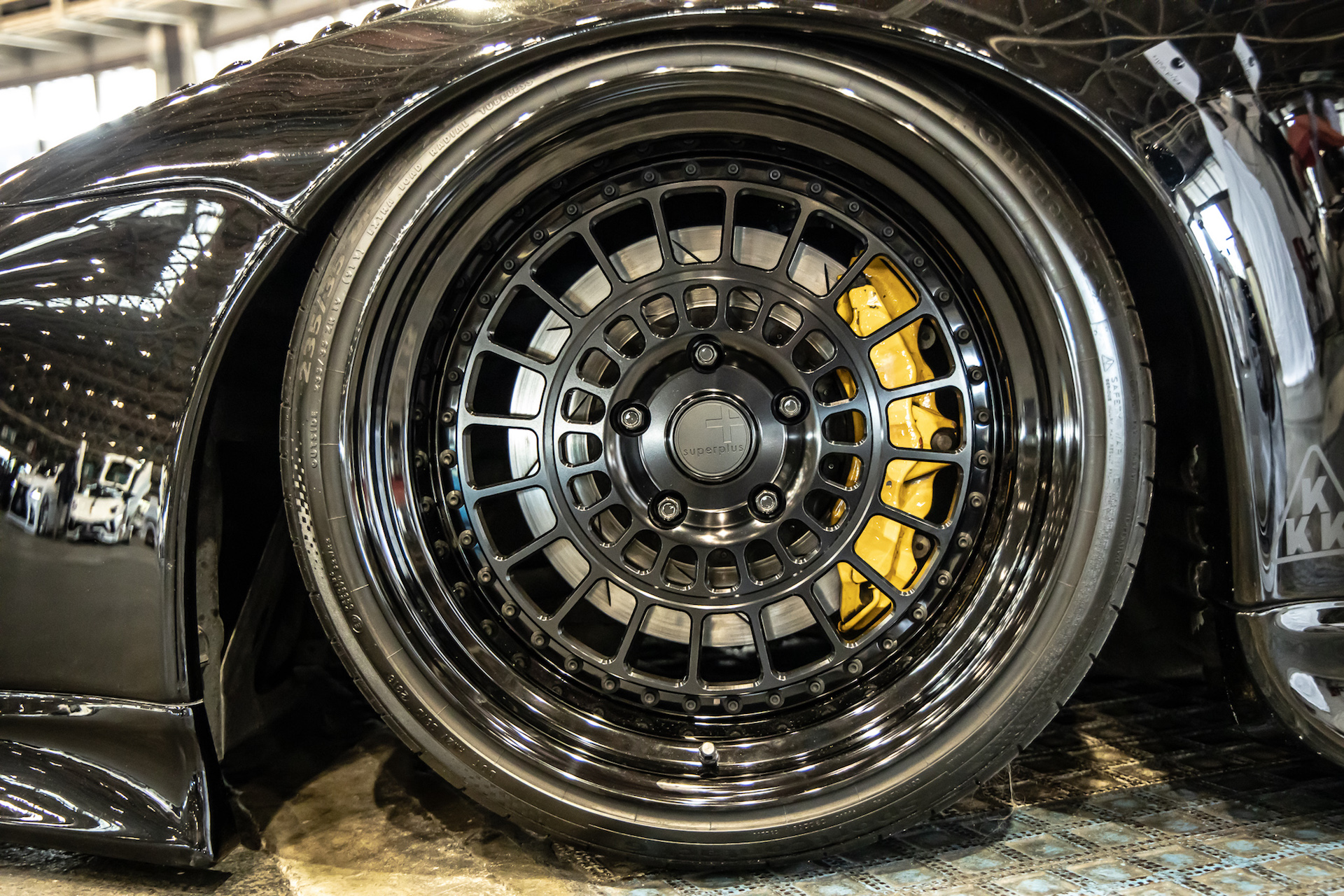 SUPERPLUS Wheels STL