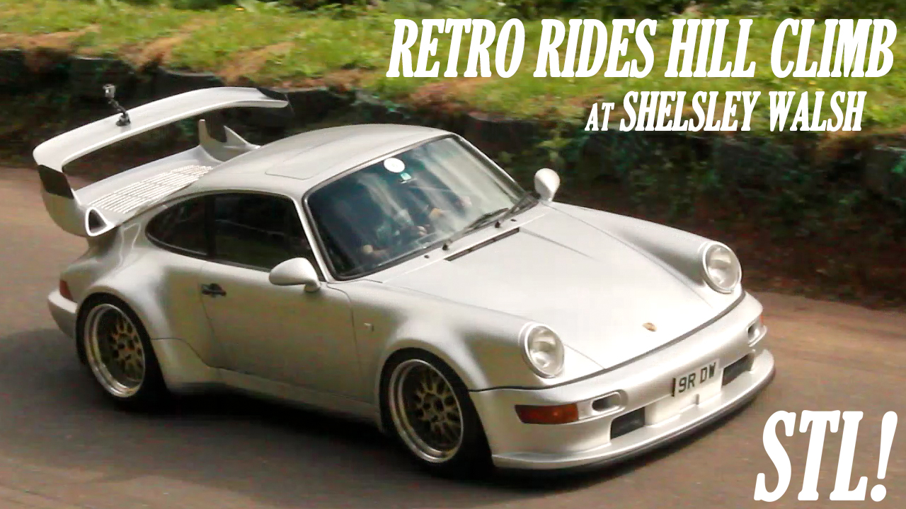 Retro Rides Hill Climb Video